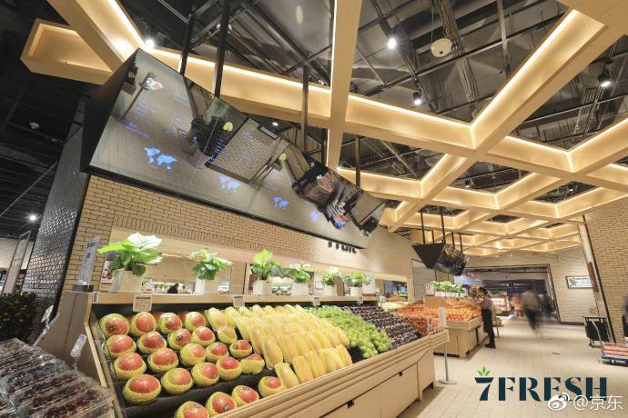Jd Launches Offline Supermarket 7fresh Produce Report